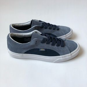 5fd620c147 Vans Shoes - Vans Lampin Blue Suede 90s Style Wide Lace